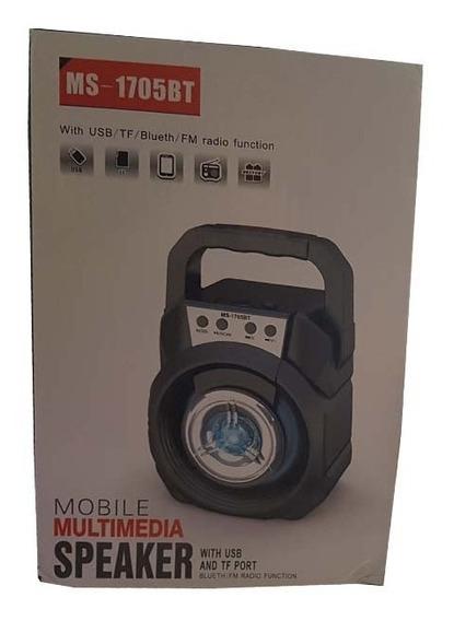 Caixa De Som Mobile Speaker System Com Bluetooth Ms1705bt