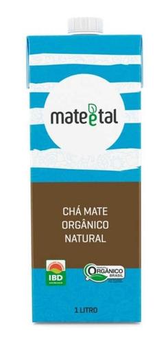 Chá Mate Orgânico Natural 1 Litro (01 Unidade)