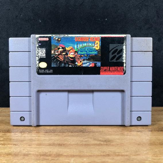Donkey Kong Country 3 Original Snes Super Nintendo C/ Nf