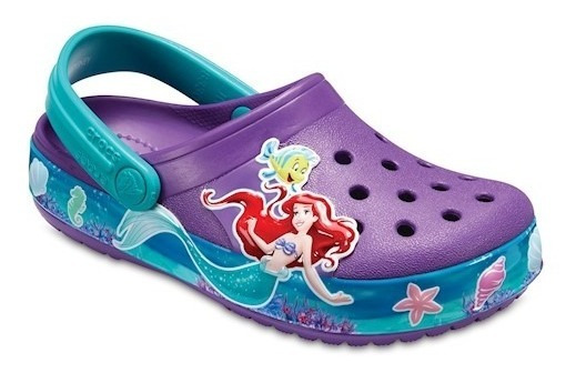 Crocs Original Princesa Ariel Clog - Niñas
