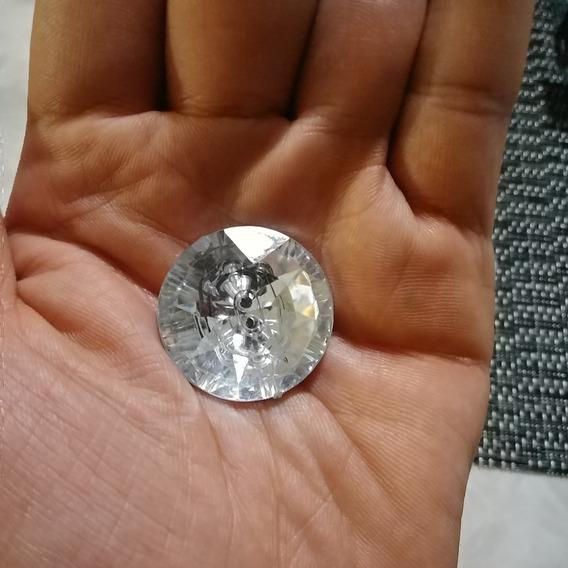 Botones Tipo Cristal De Acrilico 27 Mm P/ Cabeceras Capitone