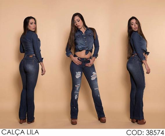 Calça Jeans Flare Darlook Lançamento Ref 38574
