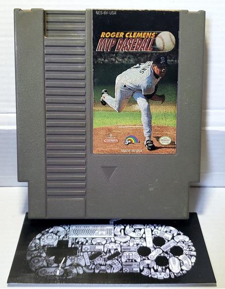 Nes Nintendinho Roger Clemens Mvp Baseball Original