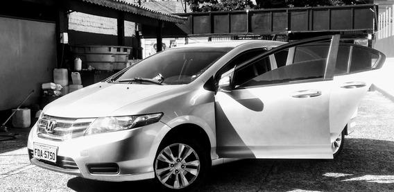 Honda City Lx 2013 + Completo + Couro