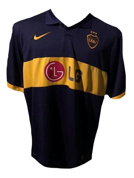 Camiseta De Boca Juniors 2010 Talle Xxl #10 Riquelme Nueva