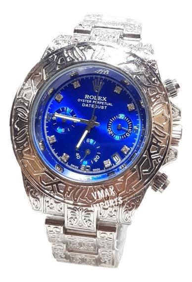 Relógio Rolex Perpetual 100% Funcional Masculino