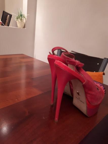 Zapatos Importados Fucsia N37