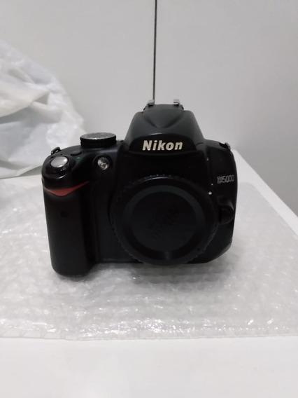 Camera Nikon D5000 Só Corpo, Apenas 7 Mil Clicks