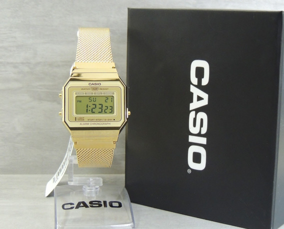 Relógio Casio Vintage Unissex A700wmg-7adf Nf Envios Full