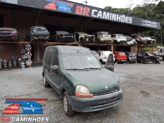 Sucata Renault Kangoo 1.6 Completo 2000/2001 P/ Venda Peças!