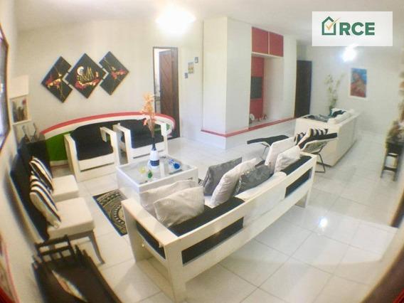Casa Com 3 Dormitórios À Venda, 188 M² Por R$ 499.000 - Ponta Negra - Natal/rn - Ca0123