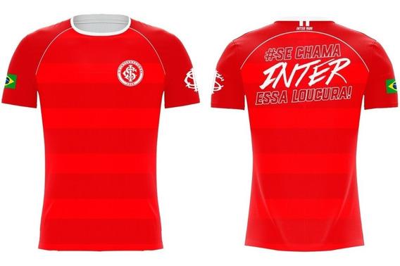Camiseta Internacional Vermelha