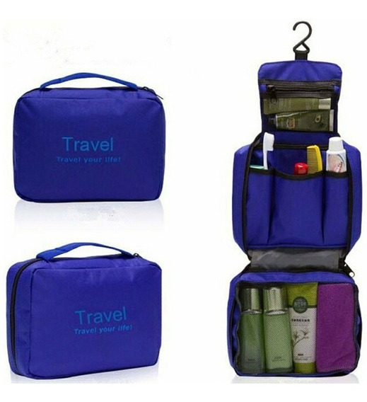 Organizador Viaje - Neceser - Portacosméticos Súper Completo