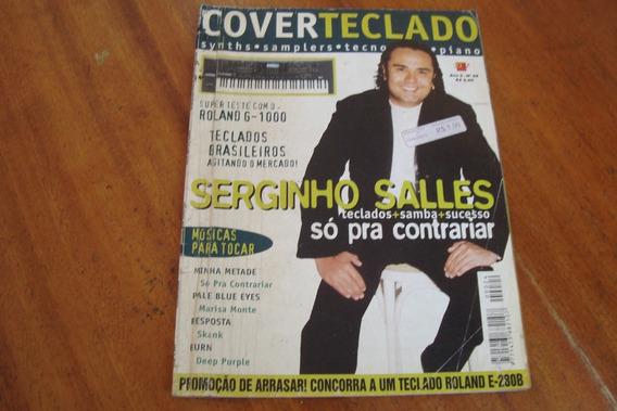 Revista Cover Teclado 24 / Serginho Salles So Pra Contrariar