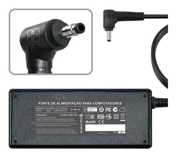 Carregador P/ Notebook Dell 5560 19.5v 4.62a Plug 4.0x1.7mm