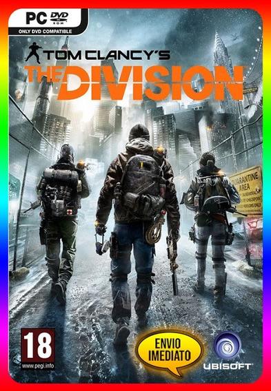 Tom Clancys The Division Pc - Uplay Key (envio Já)