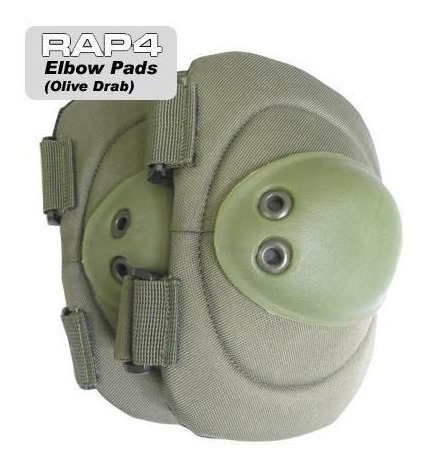 Elbow Pads Coderas. Paintball, Air Soft, Policia, Militar