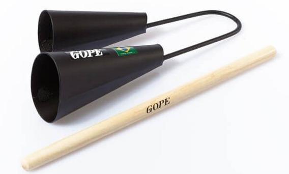 Agogô Duplo Gope Epoxi Profissional 678