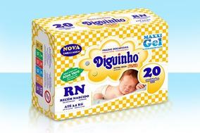 Fralda Diguinho Rn C/20un