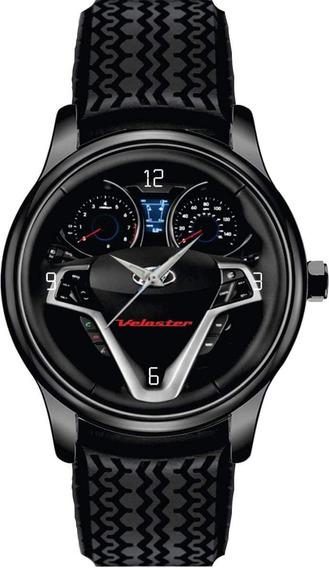 Relógio De Pulso Personalizado Painel Volante Veloster Sport