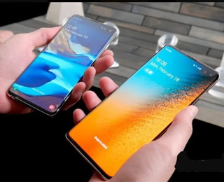 Compro Samsung S10 / S10+ Display Trincado Queimado Defeito