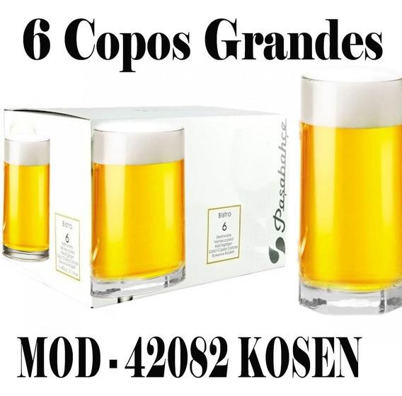 Copo Alto Drink Tango 440ml Pasabahce Jogo Com 6 Copos