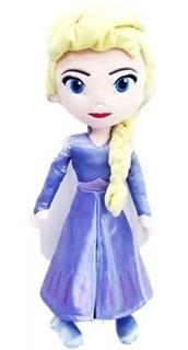 Frozen 2 Elsa Peluche Musical 20 Cm Sharif Express