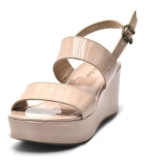 Sandália Plataforma Feminina Confort