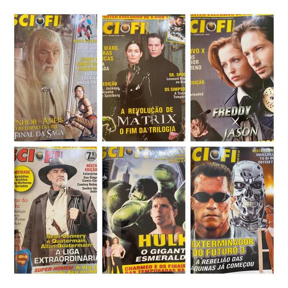 Revista Sci Fi. Kit 10 Revistas (64 A 73) Publicadas Em 2003