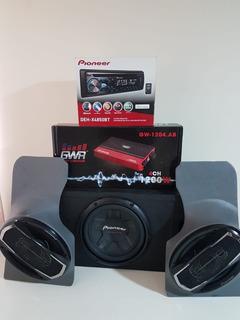 Equipo De Sonido Para Carro (planta Amplificador)