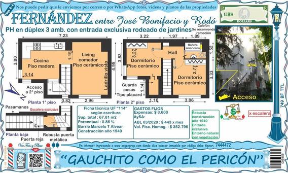 Gauchito Como El Pericon...duplex Ph Rodeado De Jardines
