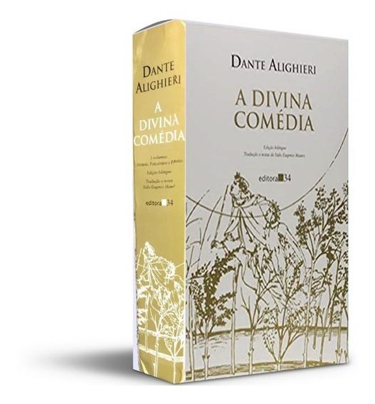 Box(3 Vols.) - A Divina Comédia Dante Alighieri