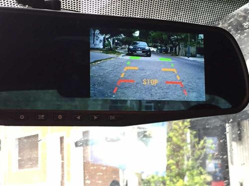 Imagen 1 de 10 de Espejo Retrovisor Con Doble Cámara Instalado A Domicilio