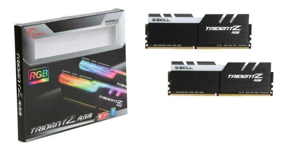 Memoria 16gb Gskill Tridentz Rgb Ddr4 2 X 8gb 16gb 3200 Mhz