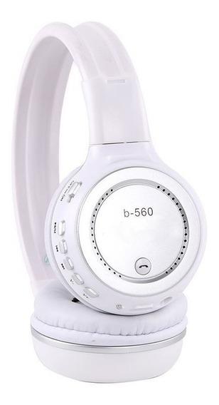 Favix Fone B560 Branco Original Bluetooth Sem Fio Fm Sd Card