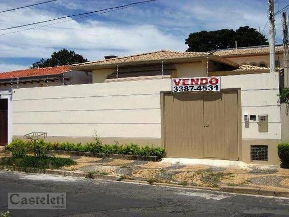 Casa Comercial Para Locação, Jardim Chapadão, Campinas. - Ca1507