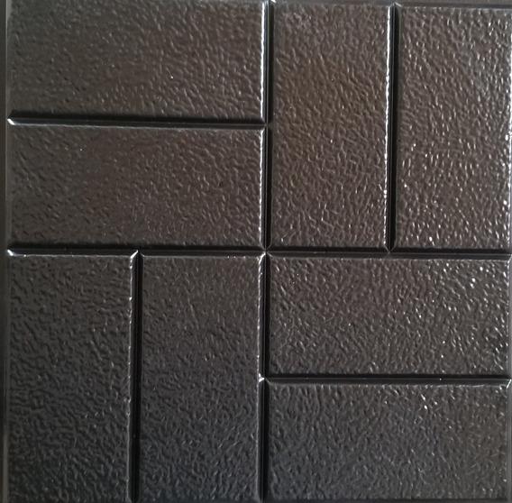 Molde Concreto Estampado Adoquin De 40x40 Cm Economico