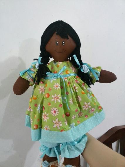 Boneca De Pano Negra