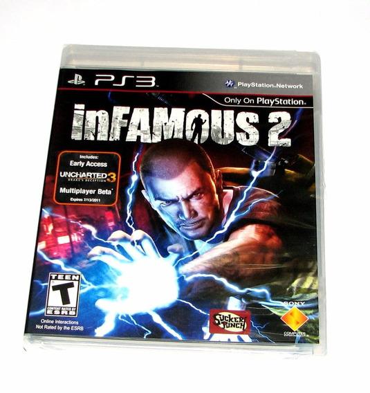 Infamous 2 Playstation 3 Ps3 Mídia Física