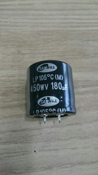 Capacitor Snap-in 180uf X 450v Caixa C/ 300pçs