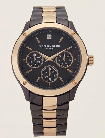 Relógio Geoffrey Benne Diamond Collection Gb8088gud