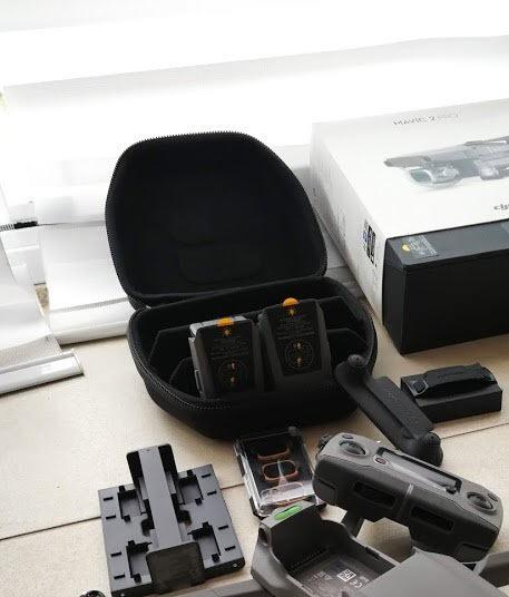 Incrivel Kit Acessórios Mavic 2: Bateria, Hub Carregador E +