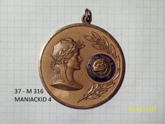Medalla Asociacion Argentina De Tiradores De Avancarga 57 Gr