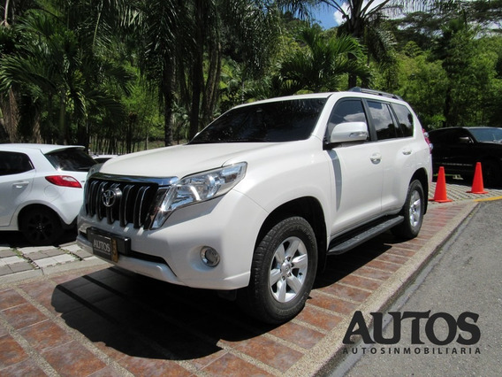 Toyota Prado Txl Blindaje 2+ Aut Sec Diesel 4x4 7p Cc 3000