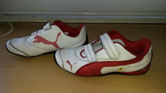 Zapatillas Puma Ferrari Para Chicos