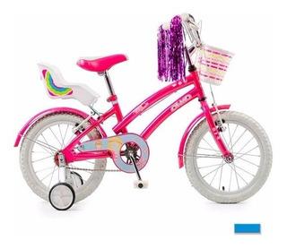Bicicleta Olmo Tiny Friends R16- Green Sport
