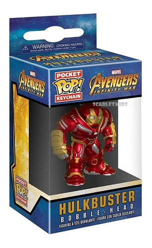 Llavero Pop Hulkbuster Avengers Funko Pocket Pop!
