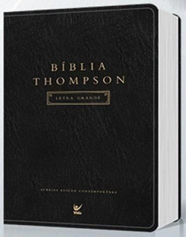 Bíblia Thompson Aec Letra Grande Luxo 17x24 Somente Esse Mês