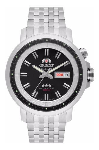Relógio Orient Automatico 3 Estrelas Masculino 469ss079 P1sx