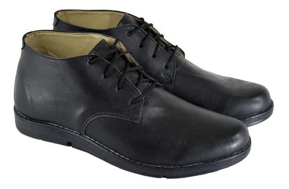 Zapatos Botitas De Hombre Cuero